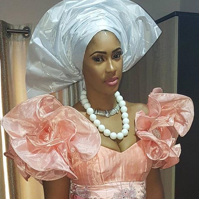 Sandra Okagbue in Traditional Outfit