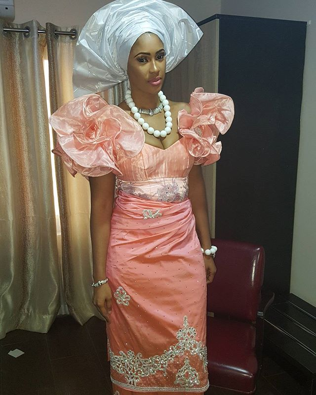 Sandra Okagbue stuns in Traditional Outfit