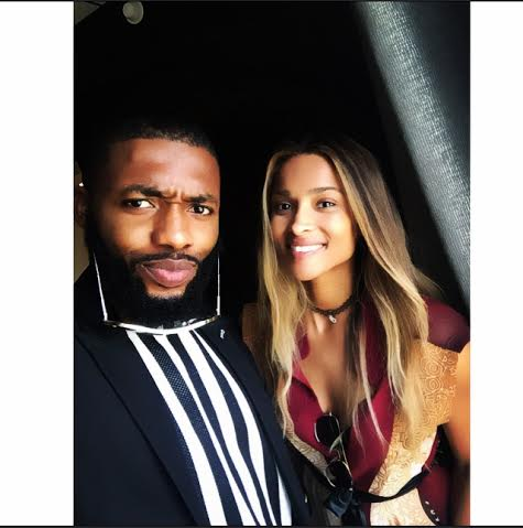 Ciara and Jeremiah Ogbodo
