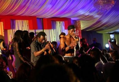 Mr P performing in Abuja