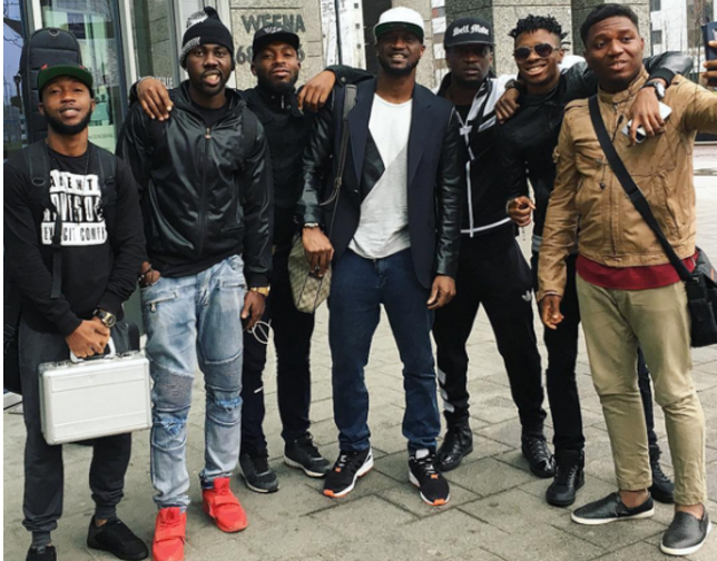 P-Square and their band members