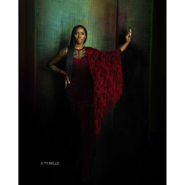 Tiwa Savage's Stunning Shoot For ThisDay Style
