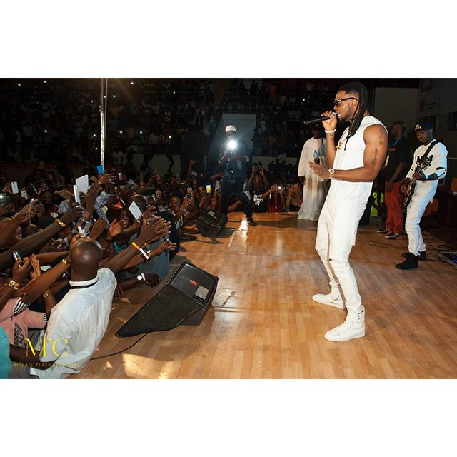 Flavour performs in Mali