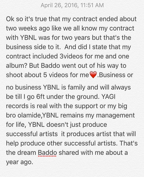 Lil Kesh Confirms His Exit From Olamide's YBNL