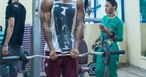 flavour workout with Phyno and CHidinma
