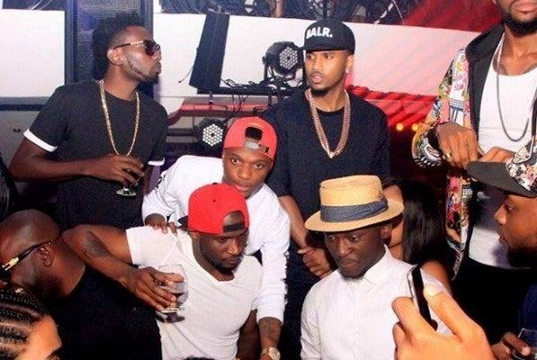 psquare, mayd, wizkid, trey songz