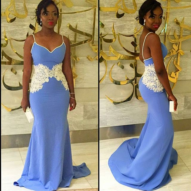 Coco Adeleke Dubai White Wedding 1