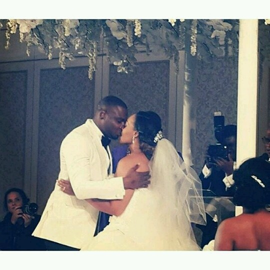 Coco Adeleke and Caleb Dubai White Wedding