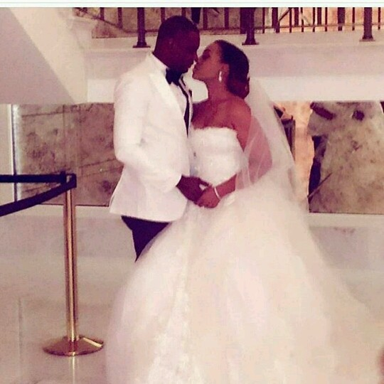 Coco Adeleke and Caleb White Wedding