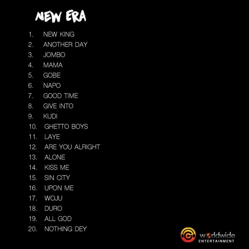 Kiss Daniel New Era album tracklist