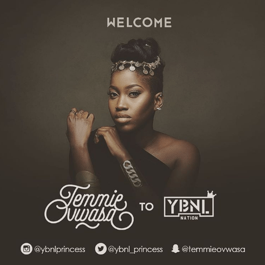 Olamide's YBNL Officially Unveils Record Label's First lady