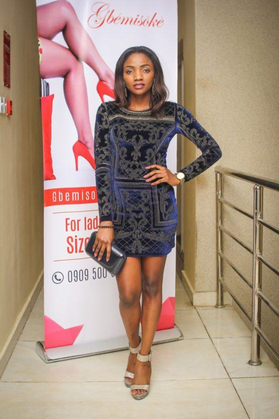 Falz and Simi Attend Event