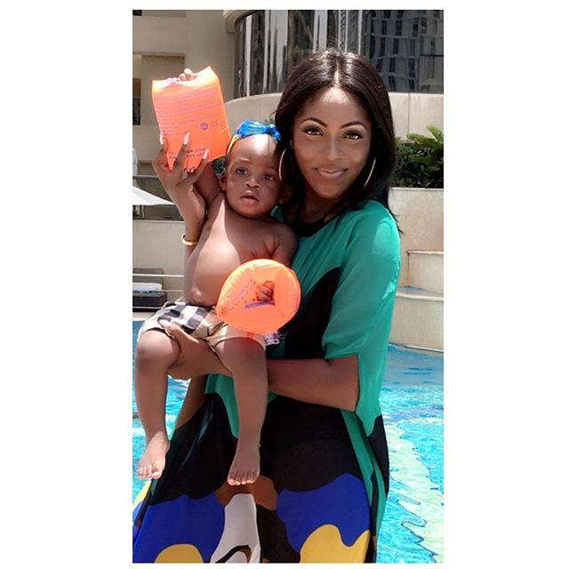 Tiwa Savage & Son Jamil