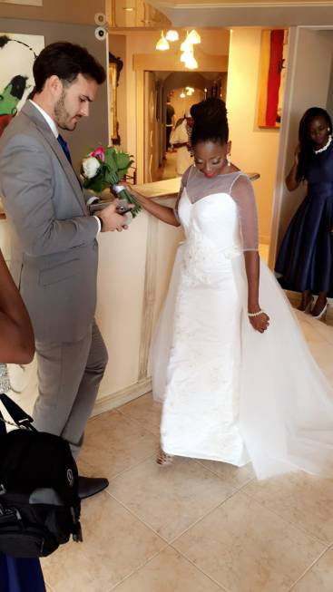 OAP Tosyn Bucknor & Husband Hold Third Wedding Ceremony in France