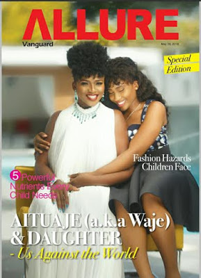 Waje & Emerald cover Vanguard Allure