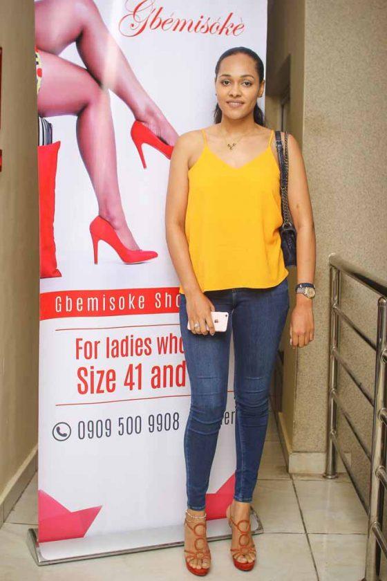 tania omotayo - Gbemisoke shoes at 1