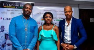 Don Jazzy, Ik - Ghana Must go movie premiere