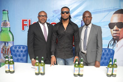 Flavour N'abania announced as brand ambassador for Life Continental Lager Beer