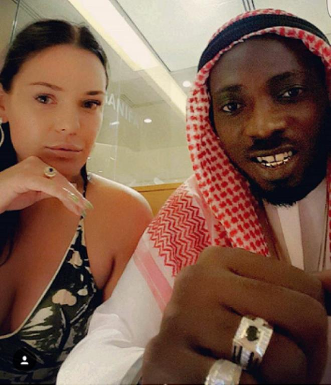 May D and Carolina Wassmuth In Dubai