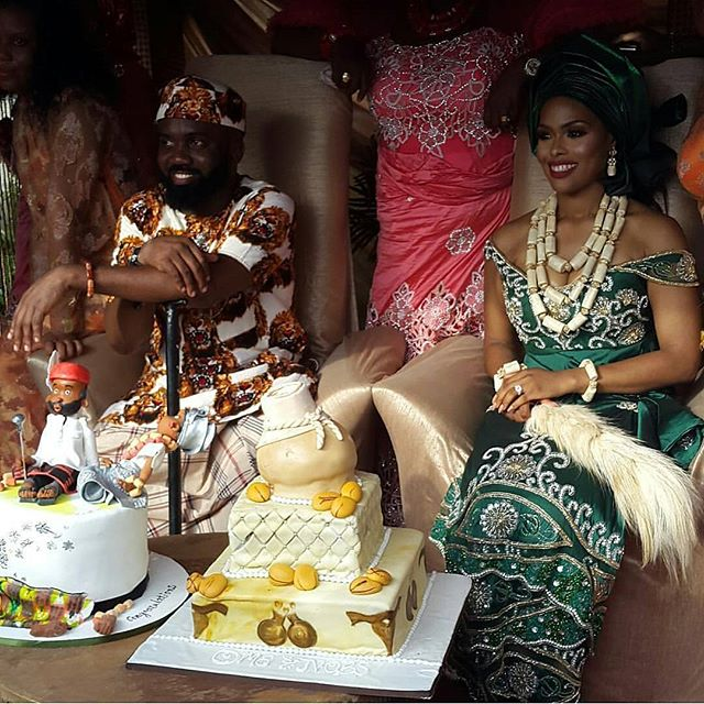 Noble Igwe and Chioma
