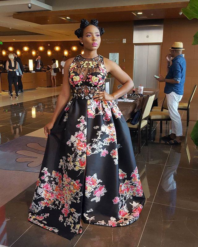 Yemi Alade Rocks N2.5 Million Dress to the BET Awards
