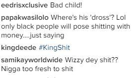 fans react to Wizkid In The Toilet