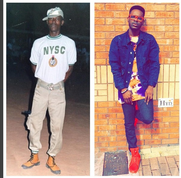 Adekunle Gold shows off his transformation