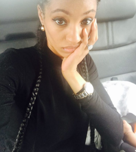 Di'ja Flaunts Her Enormous Wedding Ring And Baby