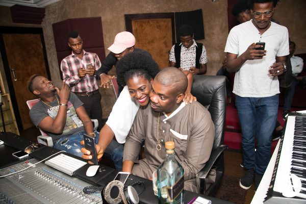 Don Jazzy Hosts 8 Lucky Fans