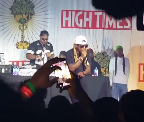 Lil Wayne storms off stage