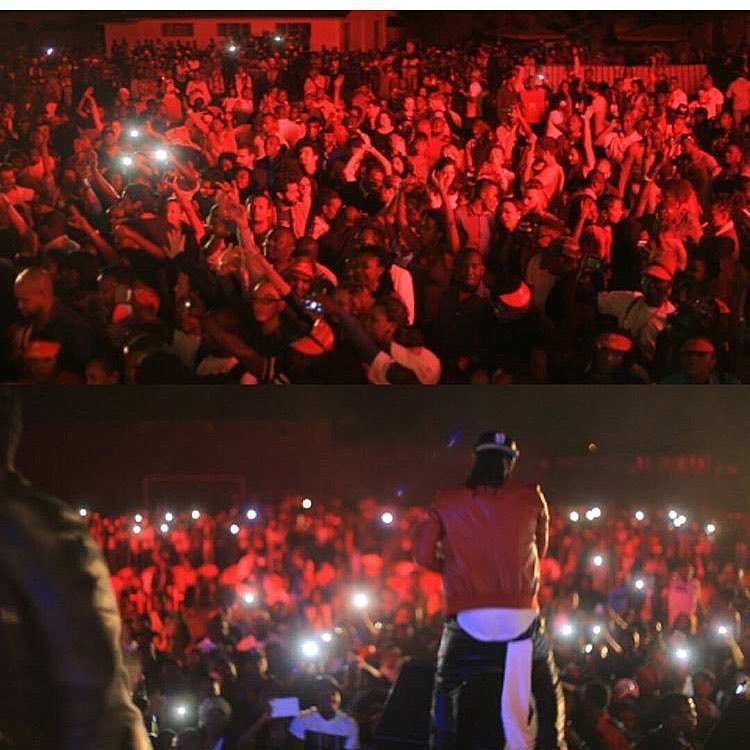 Paul Okoye perform alone as PSquare in Congo