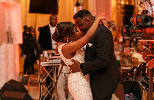 Dr Sid and wife Simi Esiri celebrate their second wedding anniversary