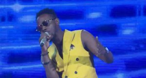 Adekunle Gold Performing at Project Fame