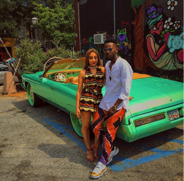 Adekunle Gold Shares Photos from His Latest Video Shoot