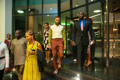 Jidenna Spotted Hanging Out At Eko Hotel In Lagos