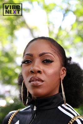 Tiwa Savage for Vibe