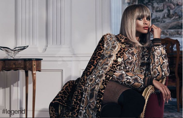 Ciara dazzle for Legend magazine