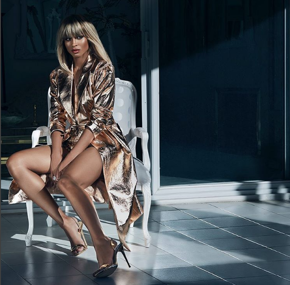 Ciara dazzles for Legend magazine NaijaVibe