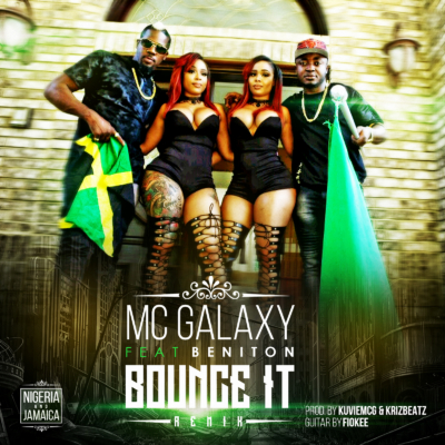 Mc Galaxy - Bounce It (Remix) ft Beniton & Double Dose Twins [ViDeo]