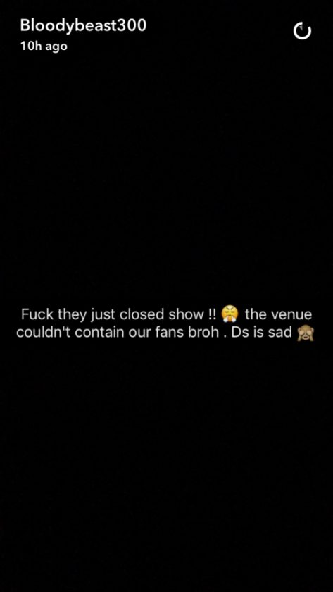 Olamide post to fans