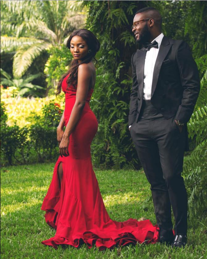 Pre wedding photos or not? Simi and Falz stun in new photoshoot