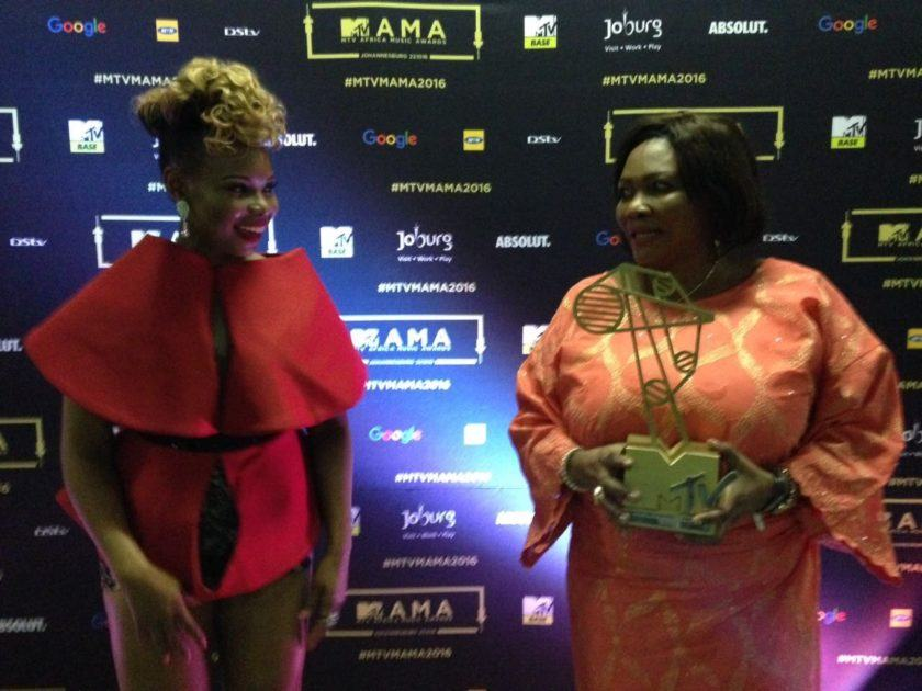 Yemi Alade Takes Her Mum On A Shopping Spree & Spa Treatment In SA