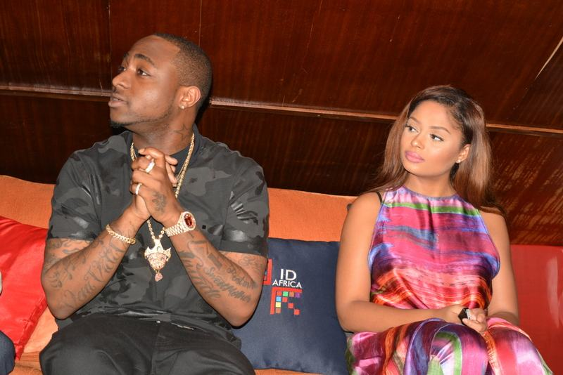 Davido and Lola Rae