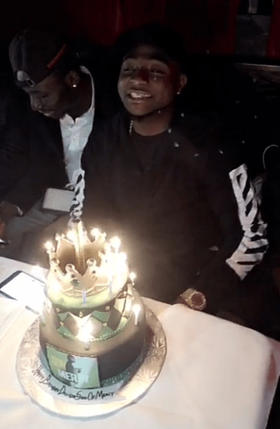 Davido's 24th birthday party