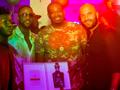 Johnny Walker gifts Don Jazzy
