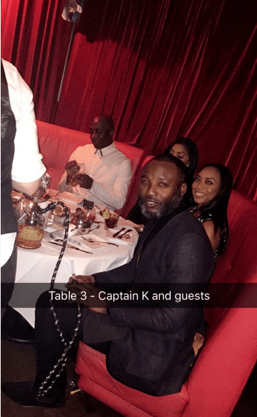 Kamal - Davido's 24th birthday party