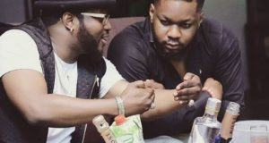 Olu Maintain Gifts His Manager Jason Amusa A Car (Photos)