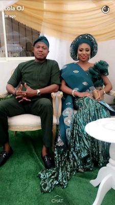 Stephaine Coker & Olumide Aderinokun at their Introduction