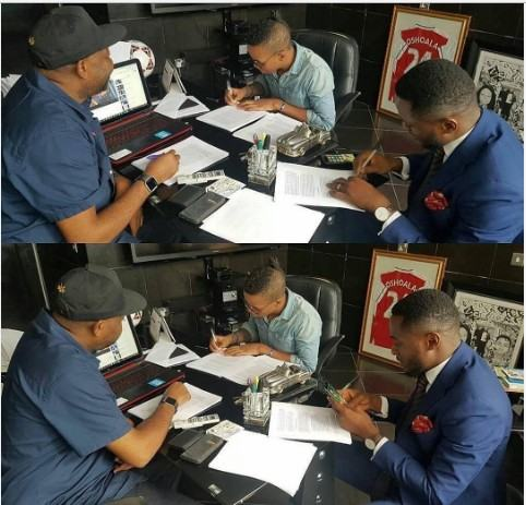 Tekno signs a Sony Music deal [ViDeo]