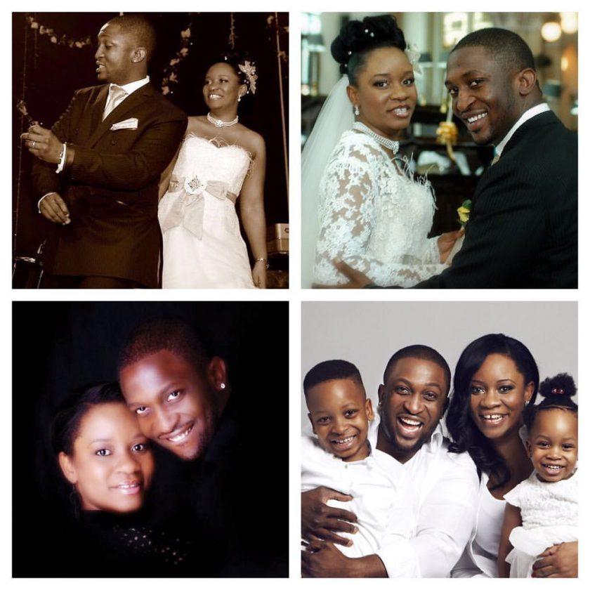Darey and wife celebrate 10th wedding anniversary